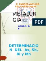 Analisis Quimico Esposicion 2 Grupo z6