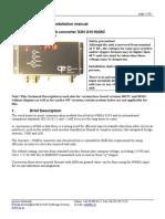 S2N gyro interface Manual