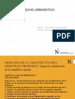 Deerchos y Cargos Estatales de Un Arquitecto