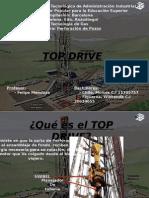 TOP DRIVE Y TODOS SUS COMPONENTES DEL TALADRO DE PERFORACION