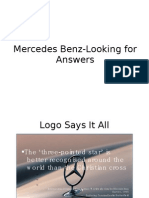 Mercedes Benz-Looking for Answers