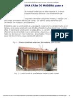 Como Construir Una CASA de MADERA Paso a Paso _ Como Hacer - Instrucciones y Planos Gratis