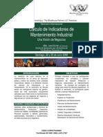 Calculo de Indicadores de Mantenimeinto - José Durán