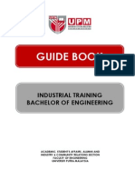 Guide Book for Industrial Training