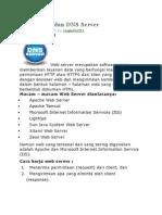 Web Server Dan DNS