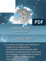 Teoría Conductista.