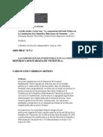 La Composición Del Poder Publico en La Constitución de La República Bolivariana de Venezuela