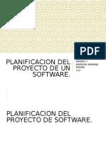 5 Planificacion Del Proyecto de Un Software