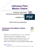 Section 12 Continuous Time Markov Chains