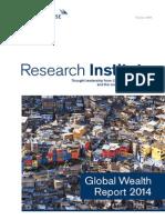 Credit Suisse Global Wealth Report 2014