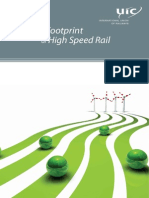 Carbon Footprint of High Speed Railway
