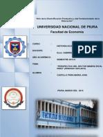 PERSPECTIVA DEL SECTOR MINERO EN PERU 1970-2014