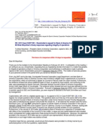 10 02 02 OCC Case # 00971981 - Shareholder's request for Bank of America Corporation President, Mr Brian Moynihan's timely responses regarding integrity of operations s