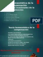 Teoría homeostática de la compensaciónVariaciones ocasionales de la atención
