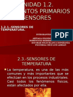 Exposicion ( Elementos Primarios Temperatura)