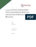 Fezabilitatea Liberalizarii Pietii Asigurarilor Medicale Obligatorii in Republica Moldova