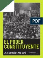Antonio Negri - El Poder Constituyente