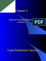 Relational Calculus 1