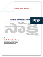 MM LinearTransformation