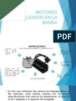 Motores Utilizados en La Banda