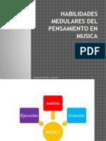 Habilidades Medulares del Pensamiento en Musica
