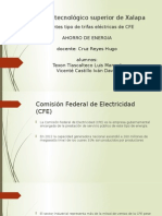 Tarifas CFE Ahorro de Energia