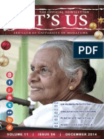 It's Us- December 2014 Issue