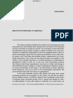 De Landa 2015 Beyond the Problematic of Legitimacy