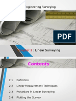 Land Surveying Chapter 3 Linear Survey, Measurement
