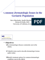 Common Dermatologic Issues