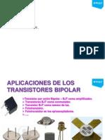 08 - Aplicaciones de los Transistor Bjt.pdf