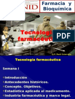 x Tecnologia Farmaceutica Clase 01