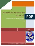 Matematica Financiera Como Modelo Economico