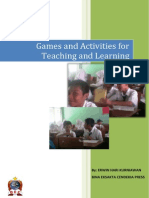 Games and Activities for Teaching and Learning
