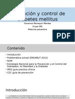 Prevención y Control de Diabetes Mellitus