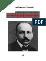 Marinetti Filippo El Futurismo