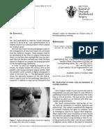 Ajit 2005 British Journal of Oral and Maxillofacial Surgery