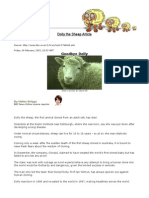 dolly the sheep article