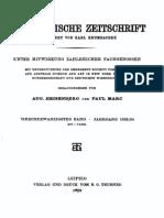 Byzantinische Zeitschrift Jahrgang 24 (1924)