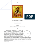 Cronologia Sf. Vasile cel Mare