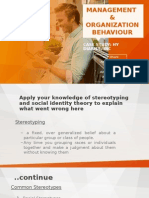 Case Study 2 Management & Organization Behaviour