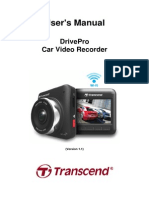 Transcend DrivePro 200 - User's Manual