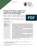 McCann 2005 British Journal of Oral and Maxillofacial Surgery