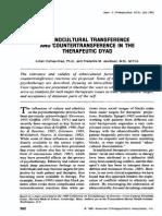 Ethnocultural Transference