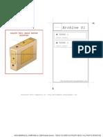 Rótulo para caixas arquivo morto