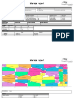 Marker Reports for 10pcs