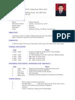 CV Dr Radian