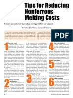 15 Tips to Reduce Nonferrous Costs