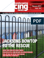 Fencing & Landscaping News - February 2010