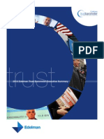 2010 Trust Barometer Executive Summary